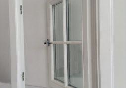 wooden flush casement windows