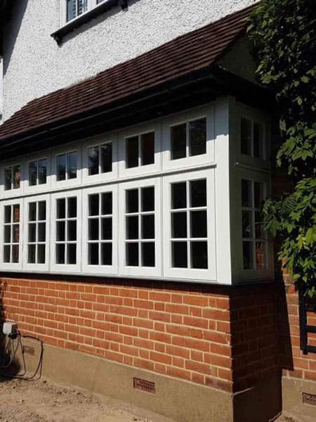 Georgian casement windows