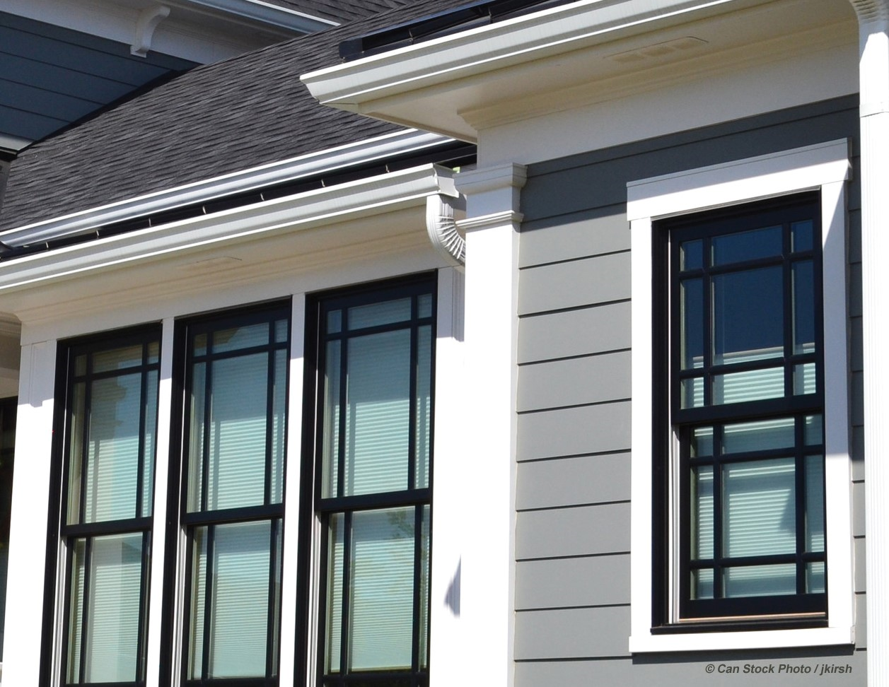 Are black windows a trend?